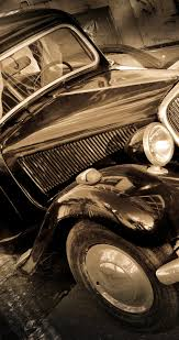 vintage shiny car old fashioned automobiles hd wallpaper