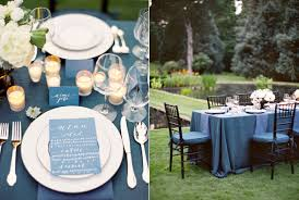 wedding reception table decorations wedding colors blue marrying later in