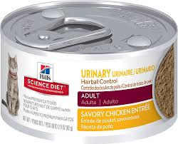 hill u0027s science diet urinary hairball control chicken entree