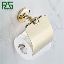 Promotion Paper Towel Holder Polished Golden Bathroom Toilet