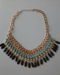 bib necklace beaded images Gypsy boho chic statement bib necklace multi layered chunky jpg