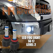 2016 toyota tundra fog light bulb 2014 2017 toyota tundra led fog light bulb upgrade level 2 gtr