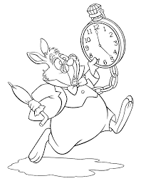 alice in wonderland tea party coloring pages kids coloring