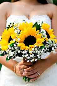 sprã che fã r einladung hochzeit die besten 25 brautstrauß sonnenblumen ideen auf