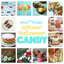 Halloween Decorations For Cakes by Ideas For Leftover Halloween Candy Tauni Co