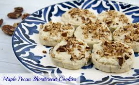 maple pecan shortbread cookies lemoine family kitchen