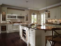 Kitchen Island With Wine Rack Modular Shaped Kitchen Island With Glass Doors And Wine Rack For