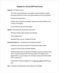 soap note example sample clinical soap note example soap note