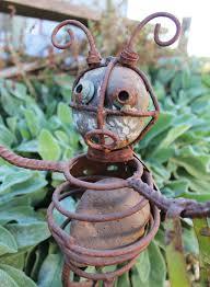 metal bugs garden decor home design and decorating