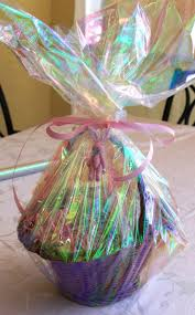 gift basket wrapping easter basket wrapping 101 live pretty