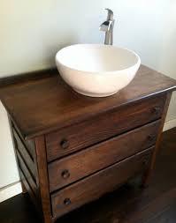 contemporary vessel sink vanity elegant best 25 dresser sink ideas on pinterest to bathroom vanity