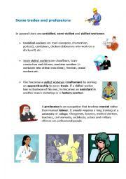 english worksheets jobs occupations worksheets page 318