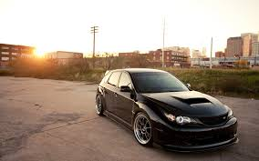 subaru impreza stance subaru impreza black cars cityscapes wallpaper allwallpaper in