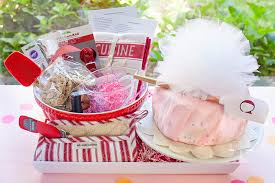 gift and wrapping ideas for a baking bridal shower