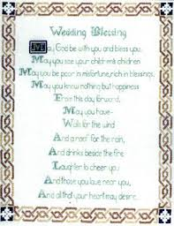 wedding blessing celtic wedding blessing cross stitch pattern by enchanting lair