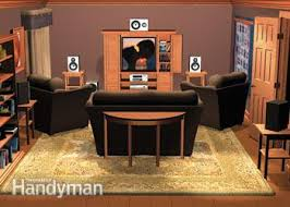 home theater setup family handyman