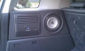 easiest location to install small amp toyota fj cruiser forum