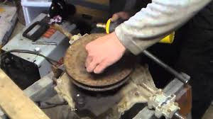 remove a stuck transaxle pulley in less then 5 minutes youtube