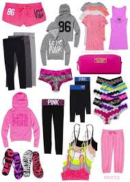 pink clothing s secret pink survival kit oh what i could do if i won