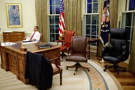 White House Oval Office Desk P013009ps 0429 President Barack Obama Tries Out Different Flickr