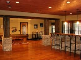 Finished Basement Bar Ideas Interior Design Stunning Wood And Theme Style
