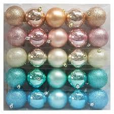ornament set pastels 70mm 50 ct
