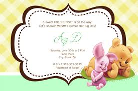 online baby shower invites top 15 winnie the pooh baby shower invitations for you