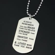 inspirational necklace inspirational necklaces for men or women meaningful necklaces