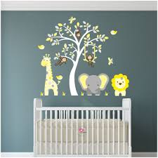 17 yellow and grey wall decals yellow and grey tree wall decal yellow and grey nursery wall art wwwgalleryhipcom the hippest