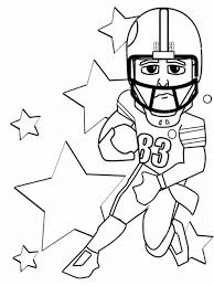 free football coloring pages regarding invigorate to color an