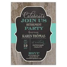 retirement invitations rustic changeable color band retirement invites paperstyle