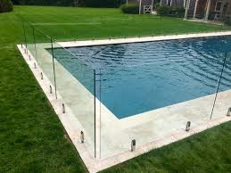 frameless glass pool fence east hampton ny usglassfence com e 6