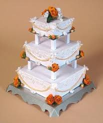 3 tier wedding cake stand card craft card templates 3d opening 3 tier wedding