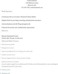 Sample Esthetician Resume by Esthetician Resume Templates Download Free U0026 Premium Templates