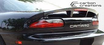 camaro ss 01 chevrolet camaro carbon creations ss wing spoiler 93 94 95 96 97