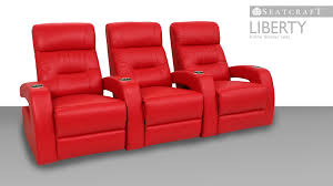 seatcraft liberty home theater seats movie chairs 4seating