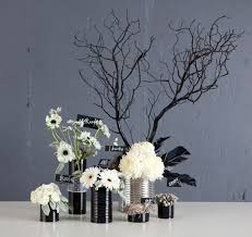 White Centerpieces Diy Halloween Centerpieces U2013 A To Zebra Celebrations