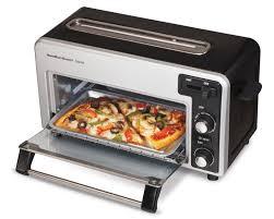 Oven Toaster Uses Amazon Com Hamilton Beach 22720 Toastation Toaster Oven Kitchen