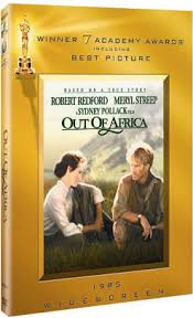 out of africa by sydney pollack meryl streep robert redford