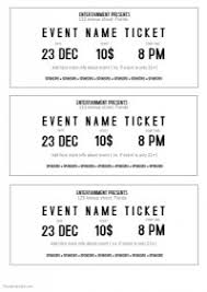 ticket template customizable design templates for event ticket postermywall