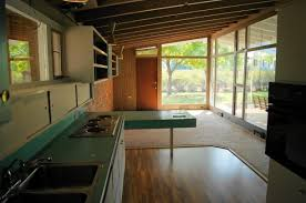luxurious mid century modern kitchen with wooden cabinet plus