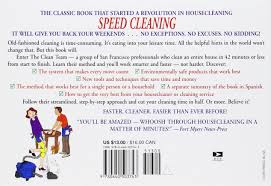 How To Clean House Fast by Speed Cleaning Jeff Campbell 9780440503743 Amazon Com Books