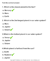 solar system worksheet blank pics about space