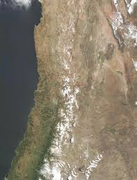 South America Satellite Map by Satellite Image Photo Of Central Chile South America