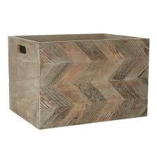 chevron pattern wooden box dunelm