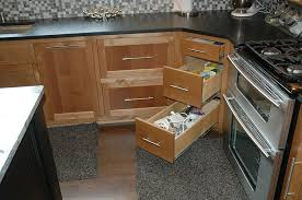 Corner Cabinets For Kitchens 30 Corner Drawers And Storage Solutions For The Modern Kitchen