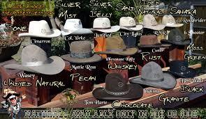 cowboy hat colors the last best west