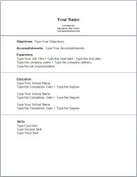 Resume Server Skills Example Of A Work Resume Server Resume Sample Unforgettable