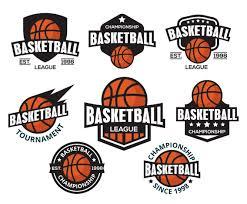 free basketball logos vector american style vector art u0026 graphics