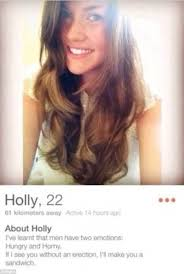 Horny Girl Meme - collection of hilariously bad tinder profiles sweeps the web daily